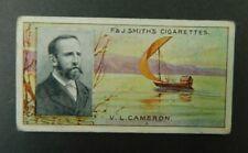 Cigarette Card F.& J.Smith's - Famous Explorers 1911 - V.L.Cameron # 34
