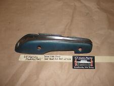 64 Mercury Monterey Ford Galaxie LEFT DRIVER FRONT DOOR PANEL ARM REST & TRIM