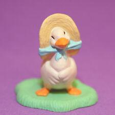 Hallmark Merry Miniatures Easter 1992 Goose In Bonnet Qsm8789 Duck