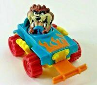 TAZ Tasmanian Devil Car Jeep Toy with Spin Motion 🏎️ Vintage 1992 Warner Bros.