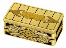 YUGIOH 2019 Mega tin - Gold Sarcophagus Tin CARD PACK BOX SEALED ENGLISH NEW