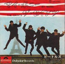 Beatles My Bonnie / The Saints RARE Japan 45 W/PS Title Misspelled On Sleeve
