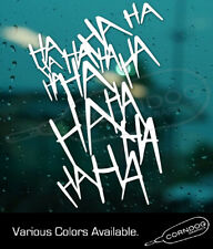Joker Laugh Sticker Vinyl Decal Suicide Squad Harley Quinn Batman Dc Comics