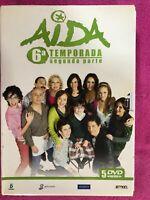 AIDA SEXTA 6ª TEMPORADA SEGUNDA PARTE SERIE TV 5 x DVD ESPAÑOL  AM
