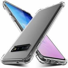 """Samsung Galaxy S10 Case Clear Anti-Scratch Ultra Slim CoveTPU Bumper 6.1"""" HD 🔥"""