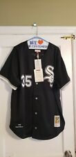 100% Authentic MITCHELL & NESS 93 Chicago WHITE SOX Frank Thomas JERSEY Size 48