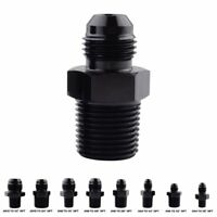 Straight AN Flare Male to NPT Pipe Fitting Adapter Thread Converter Aluminum