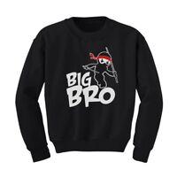 Ninja Boy - Big Brother Gift Idea For Elder Sibling Kids Sweatshirt Big Bro