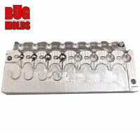 Frog Tongue Sinker Multi Cavity Production molds 1 to 12oz Choose Size
