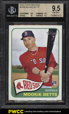 2014 Topps Heritage Mookie Betts ROOKIE RC #H558 BGS 9.5 GEM MINT (PWCC)