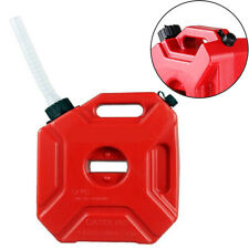 5l Red Jerry Cans Fuel Gas Plastic Tank Petrol Container Mount Motorcycle Holder