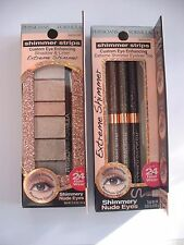 2 Physicians Formula Shimmer Strips Custom Eye Enhancing Extreme Shadow & liner
