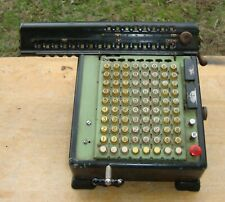 Monroe Mechanical Adding Machine Calculator with Cord