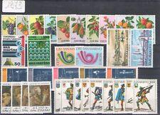 1973 San Marino, Annata Completa , francobolli nuovi 34 val Nuovi MNH**