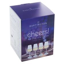 Dartington Crystal CIN CIN! bicchieri da vino bianco (confezione da 4)