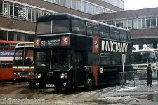 Maidstone 5718 Victoria coach station 1981 Bus Photo