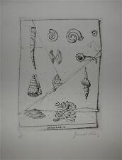 Gérard Diaz Gravure Originale Signée numérotée art abstrait abstraction