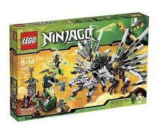 Lego Ninjago New Sealed Set 9450 Epic Dragon NIB Complete Minifigs Ninja Snakes