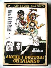 Dvd Anche i dottori ce l'hanno - Cineclub Classico con George C Scott 1971 Nuovo