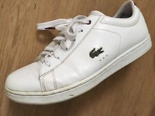 New listing Size 5 White Lacoste Carnaby Evo Women's Girls Tennis Shoes