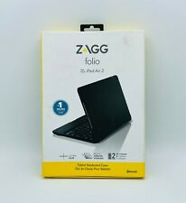 ZAGG Folio Case Hinged with Bluetooth Keyboard For iPad Air 2