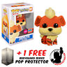 FUNKO POP VINYL POKEMON GROWLITHE FLOCKED #597 NYCC 2020 EXCLUSIVE