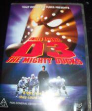 The Mighty Ducks 3 D3 (Emilio Estevez) Disney (Australia Region 4) DVD – New
