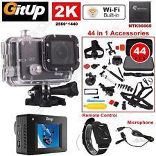 16M Ultra 2K Gitup Git2 Sports Video DVR Camera+Mic+Remote+44in1 Accessories