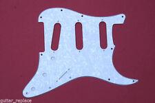 Golpeador Stratocaster 3 Capas SSS Blanco Perlado Pickguard White Pearl Strato