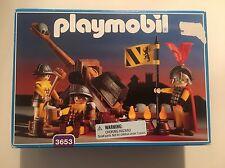 Playmobil 3653 Lion Knights Catapult Castle Rare Vintage NISB