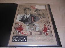 Se7en- New Flesh- Art Print- 18x24- Number 32/65- Signed- Read Full Listing