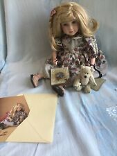 VTG 2000 Boyds (Bears) Collection Doll Yesterday's Child~Lynne & Jigsaw #4821V