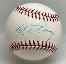 Mitt Romney Signed Baseball Autographed JSA COA Former US Presidential Candidate