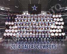 2014 DALLAS COWBOYS FOOTBALL TEAM 8X10 PHOTO PICTURE