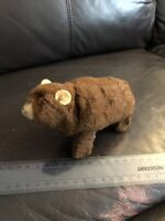 1960's Mechanical Grizzly Bear - West Germany - Original Sticker & Key!