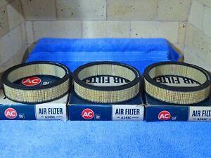 1965-1967 Pontiac GTO GM AC Air Cleaner Filters NOS