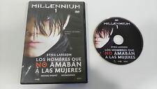 MILLENNIUM 1 LOS HOMBRES QUE NO AMABAN A LAS MUJERES DVD STIEG LARSSON