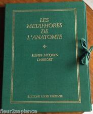 Les Métaphores de l'anatomie Henri-Jacques Darrort