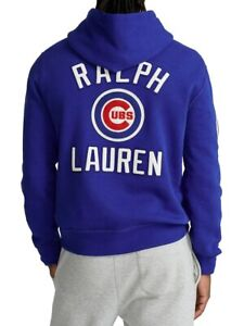 Polo Ralph Lauren CHICAGO CUBS Limited Edition Collection Blue & Red HOODIE