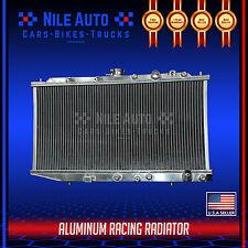 2 ROW RACING FULL ALUMINUM COOLING RADIATOR FOR 88-91 CIVIC/CRX/CR-X EF MT D15