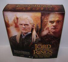 Lord of the Rings Fellowship Legolas Greenleaf Figure Sideshow NIB