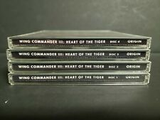 Wing Commander III: Heart of the Tiger (PC, 1995) Computer Jewel Case