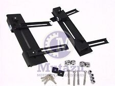 Click On Quick Detach Mounting Bracket Kit for Most Universal Hard Saddle bags