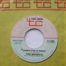 **TONY MASSARELLI Carmen (J.P. MASSIERA) NM- CANADA PROMO 1971 CANADA 45
