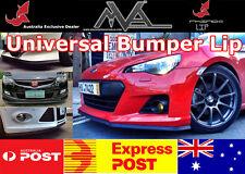 RHINO LIP FRONT BUMPER SPOILER CHIN SPLITTER VALANCE BODY KIT M3 E90 E36 E30 E39