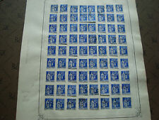 FRANCE - timbre yvert  et tellier n° 365 x63 obl (br1) stamp french