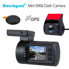 Blueskysea Mini 0906 Dual 1080P Lens Car Dash Cam DVR Sony IMX291 Loop Recording