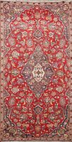 4x6 Vintage Traditional Floral Oriental Wool Area Rug Foyer Hand-Knotted Carpet