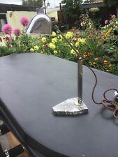 More details for art deco genuine french artisanat desk lamp.