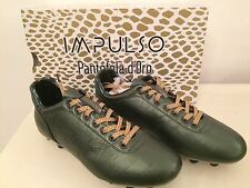 Impulso Pantofola d'Oro Size 46 Euro New Cocco Nile Green Football Studs
